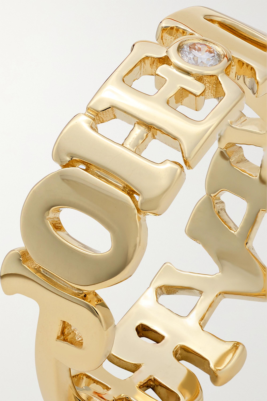 Yvonne Léon Joie de Vivre 9-karat gold diamond ring