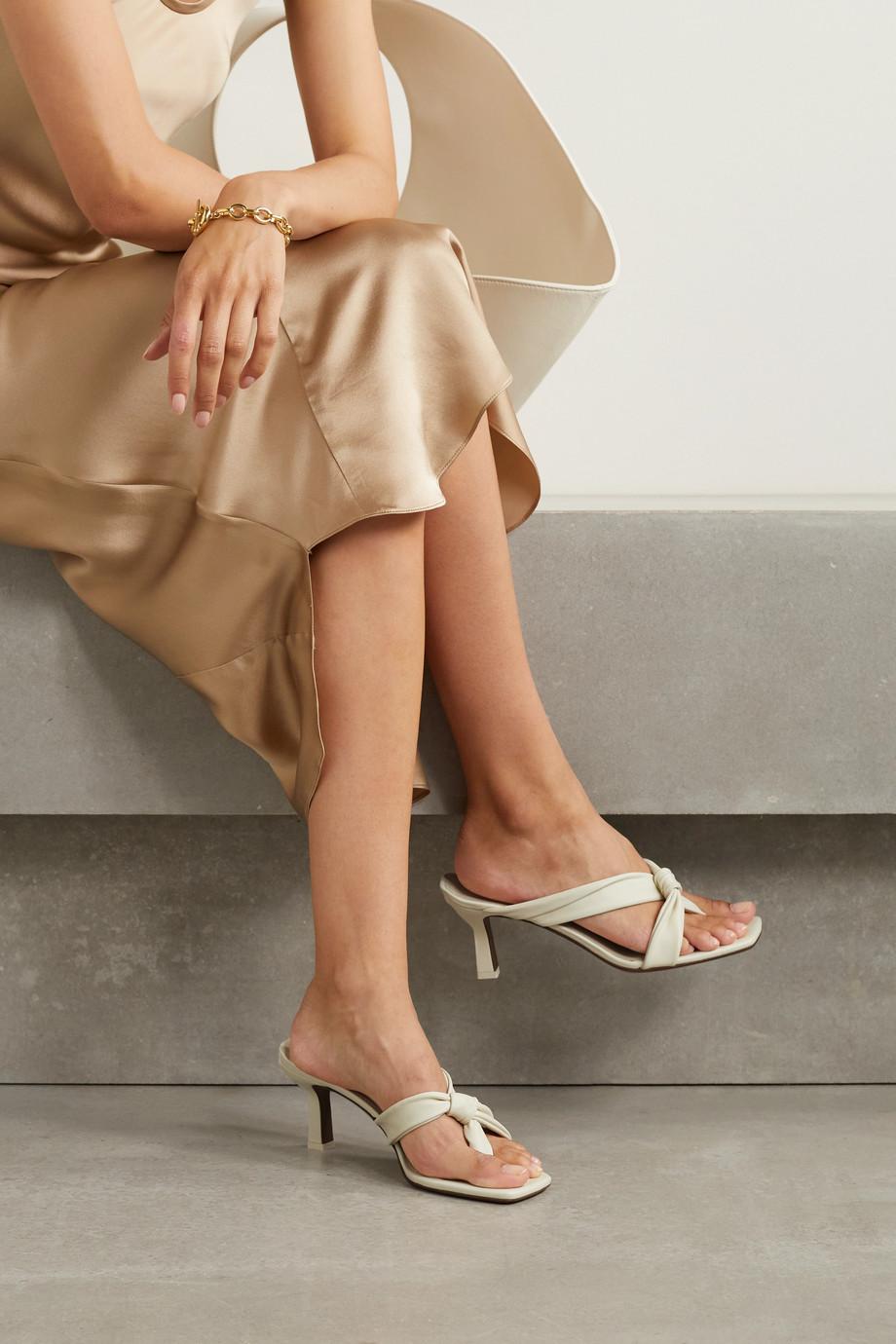 Neous Dofida Mules aus Leder mit Twist-Detail