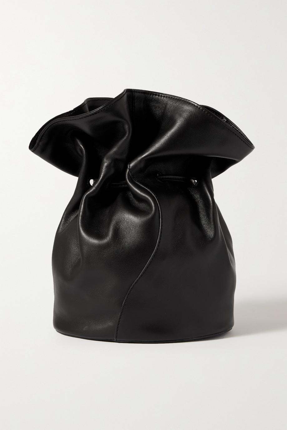 Little Liffner Vase leather clutch