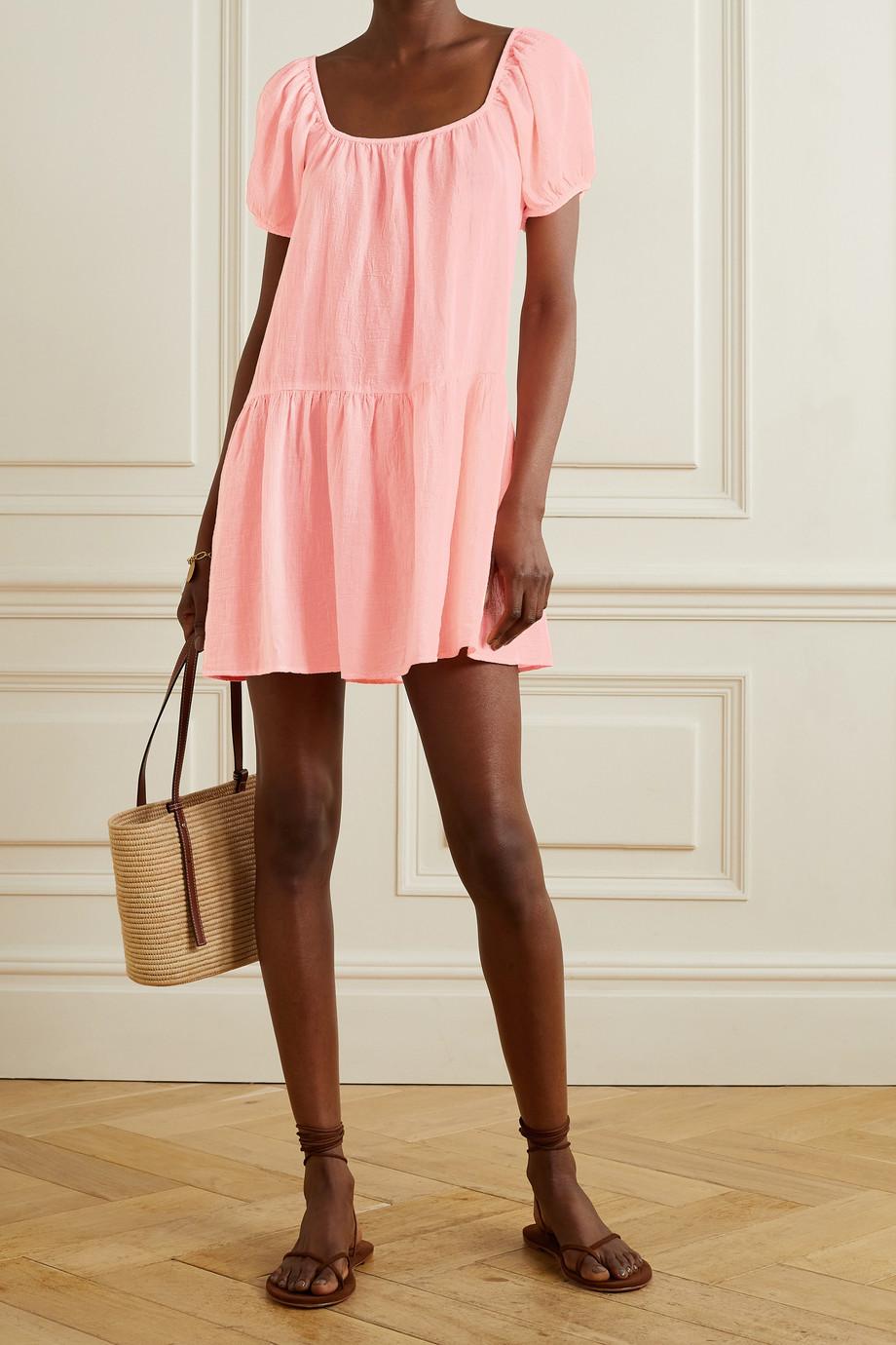 Honorine Elodie Minikleid aus Baumwollgaze