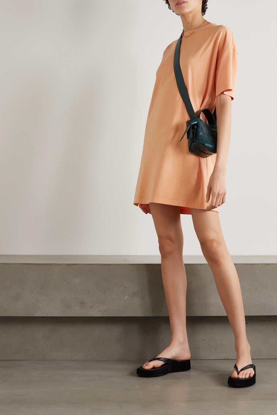 Ninety Percent + NET SUSTAIN organic cotton-jersey mini dress