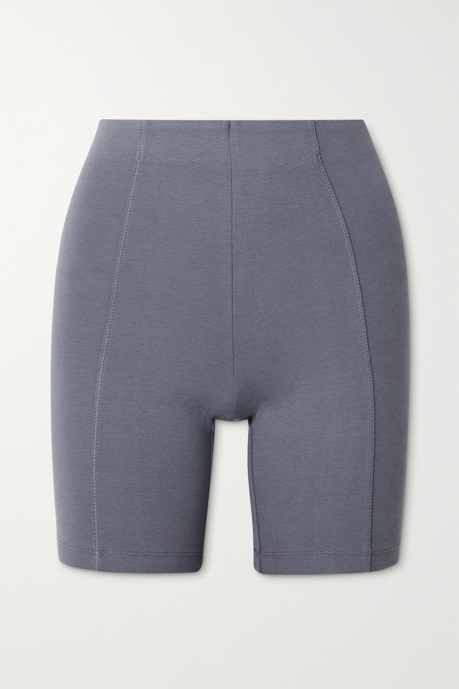 Ninety Percent + NET SUSTAIN stretch organic cotton-jersey shorts