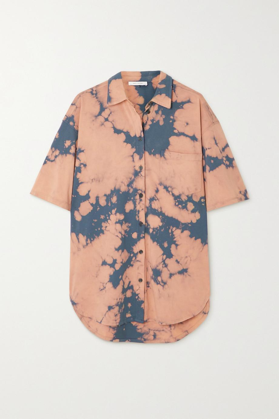 Ninety Percent + NET SUSTAIN tie-dyed organic cotton-jersey shirt