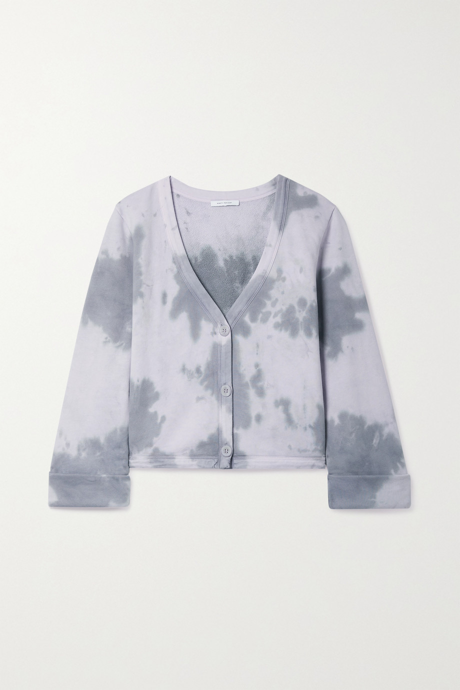Ninety Percent Cardigan en jersey de coton biologique tie & dye - NET SUSTAIN