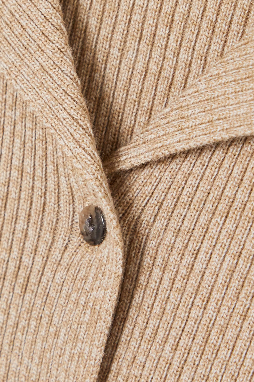 Nanushka Sid Cardigan aus einer gerippten Wollmischung