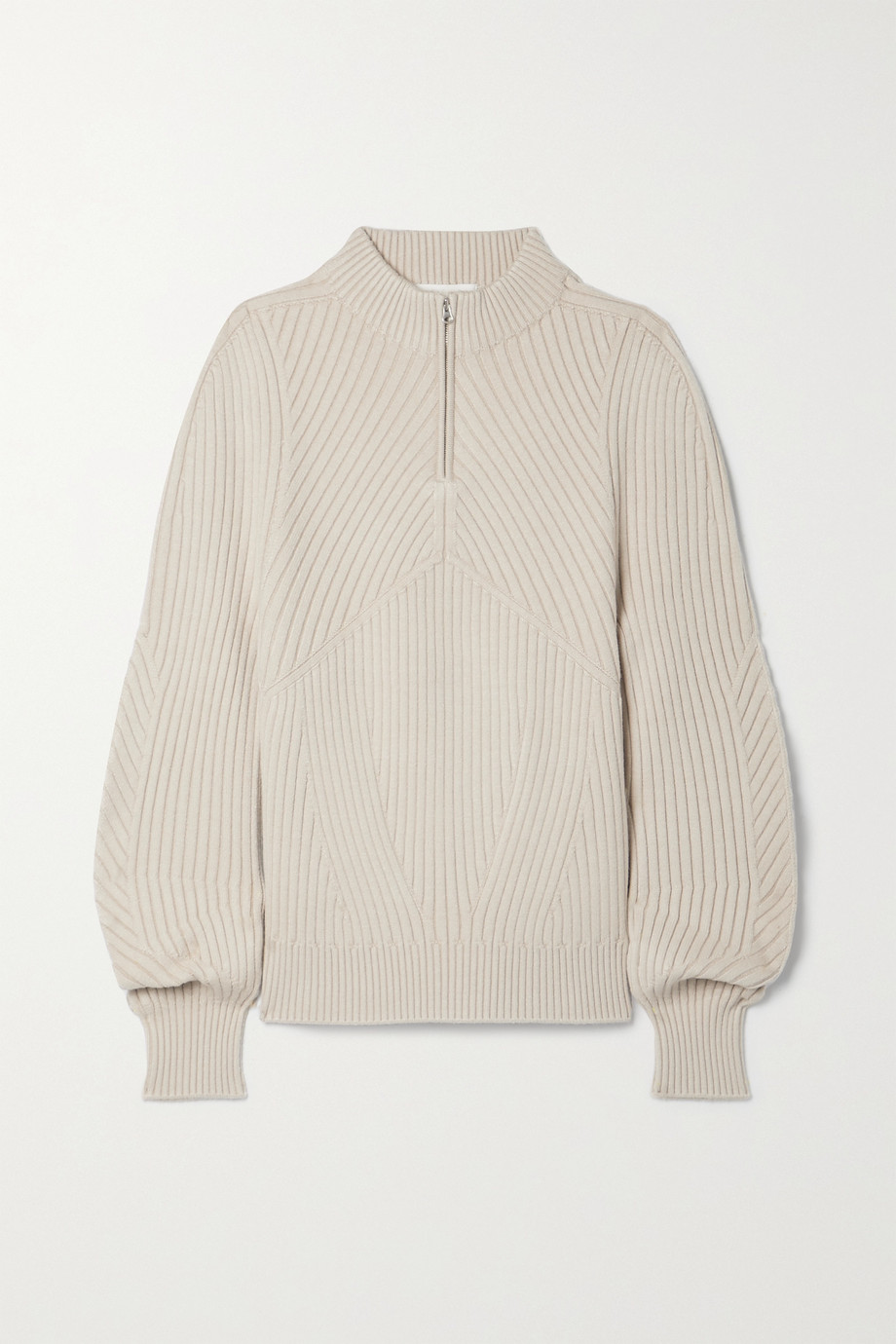 LOW CLASSIC Ribbed-knit sweater