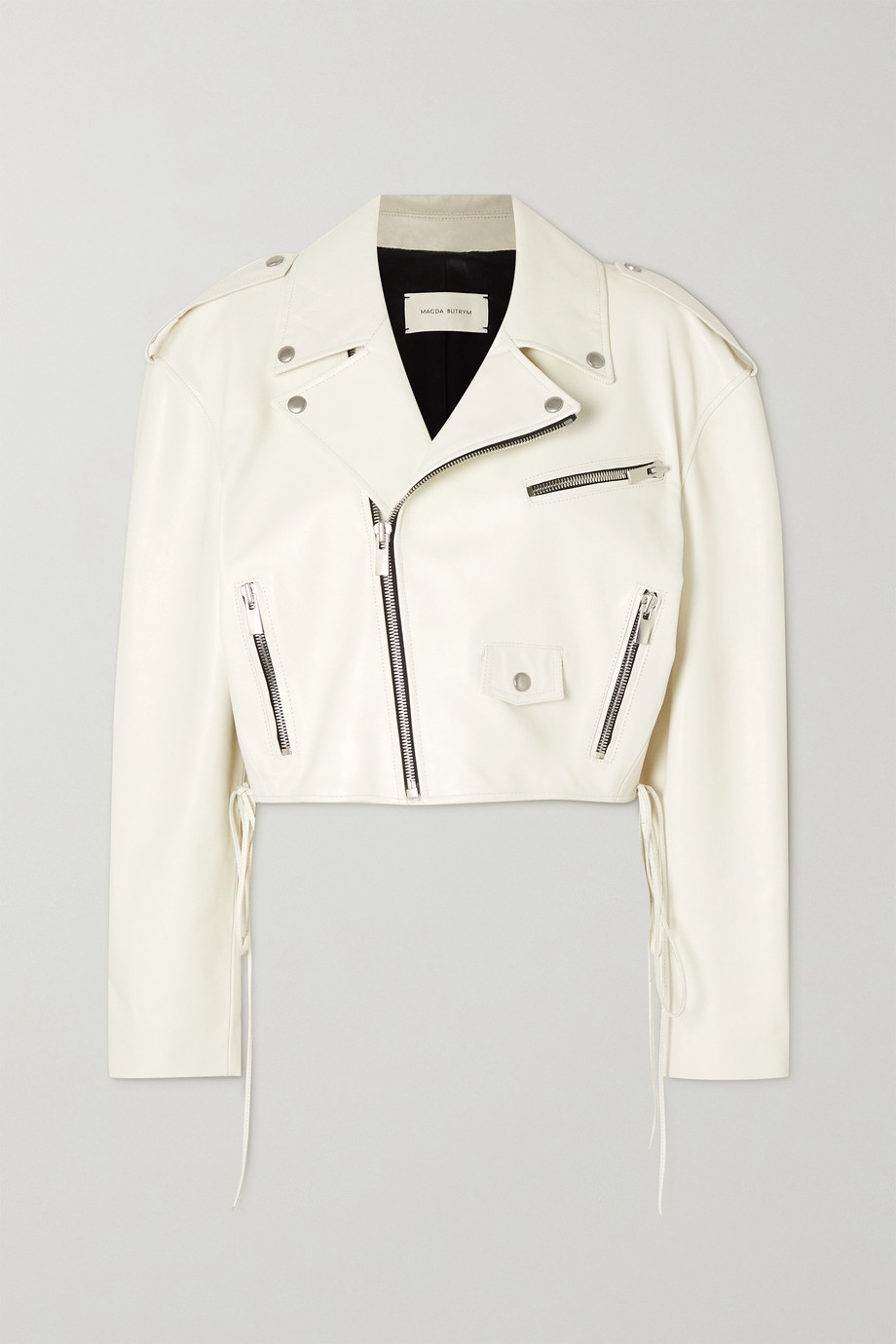 Magda Butrym Leather biker jacket