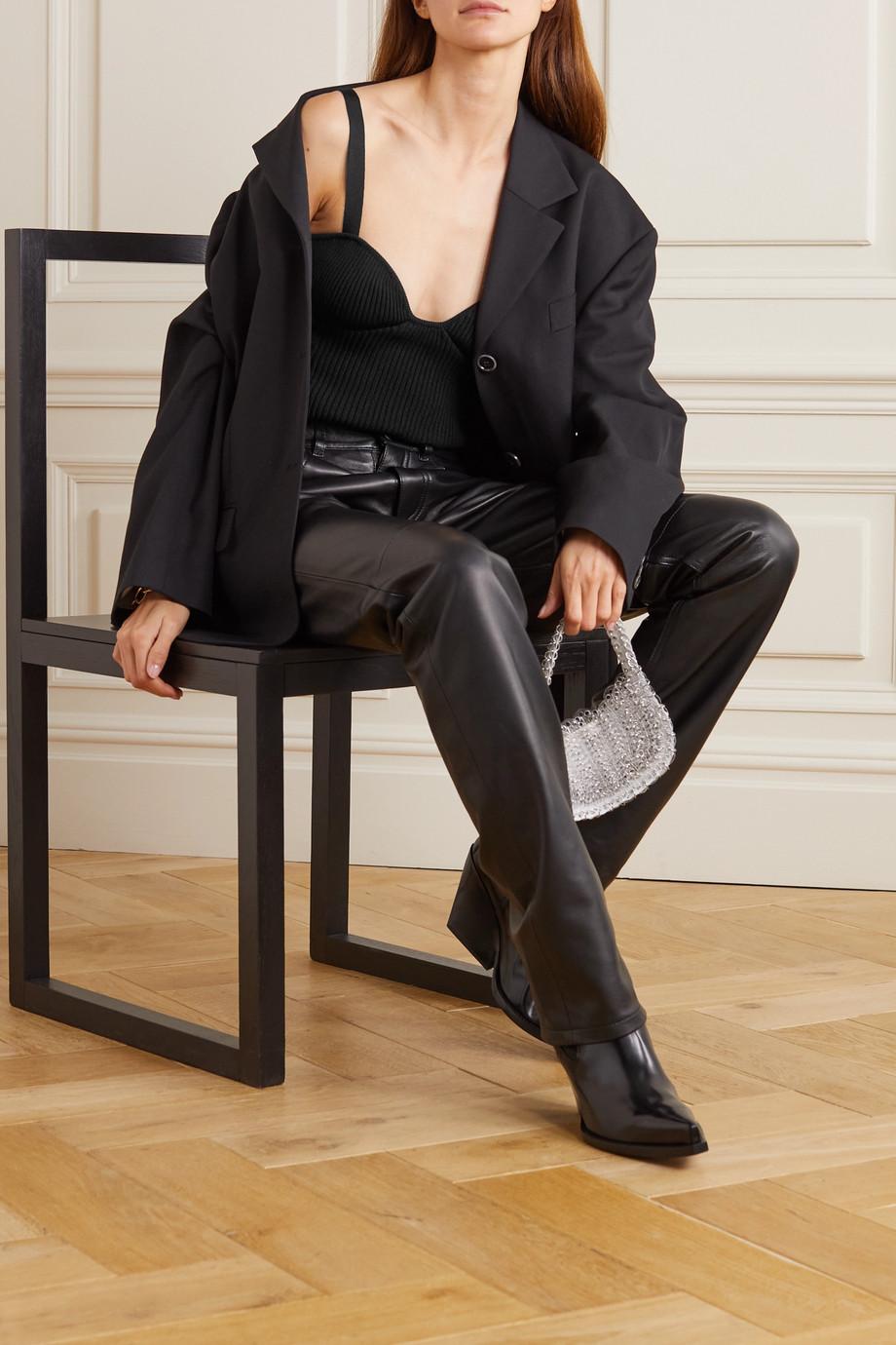 Magda Butrym Ribbed-knit top
