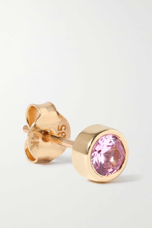 Charms Company Ohrring aus Gold mit Saphir