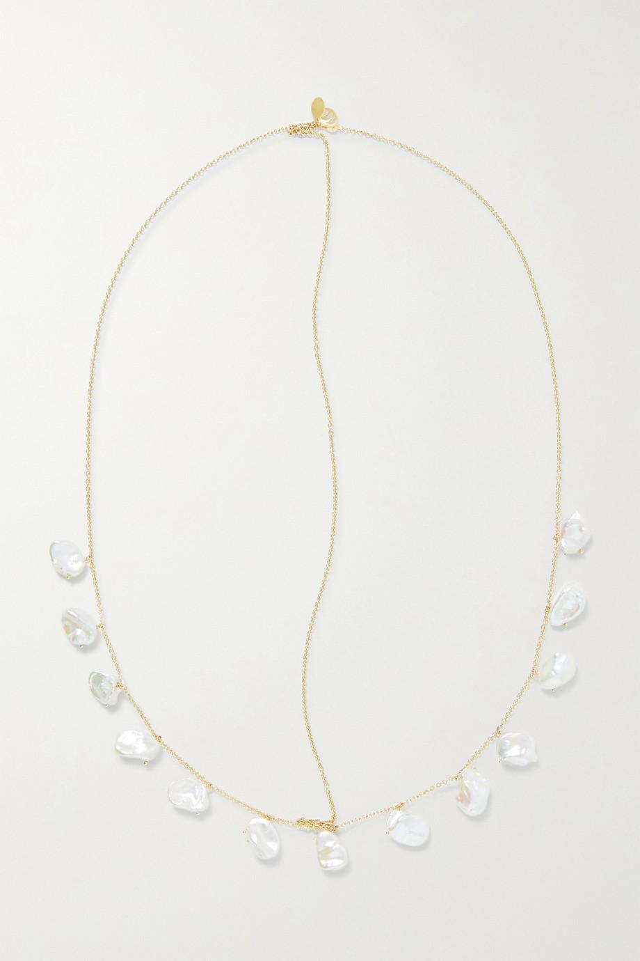Charms Company Bijou de tête en or 14 carats (585/1000) et perles Pearls of Joy