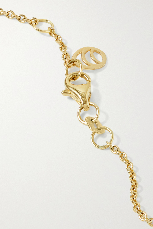 Charms Company Collier en or 14 carats (585/1000) et perles naturelles et synthétiques Les Bonbons