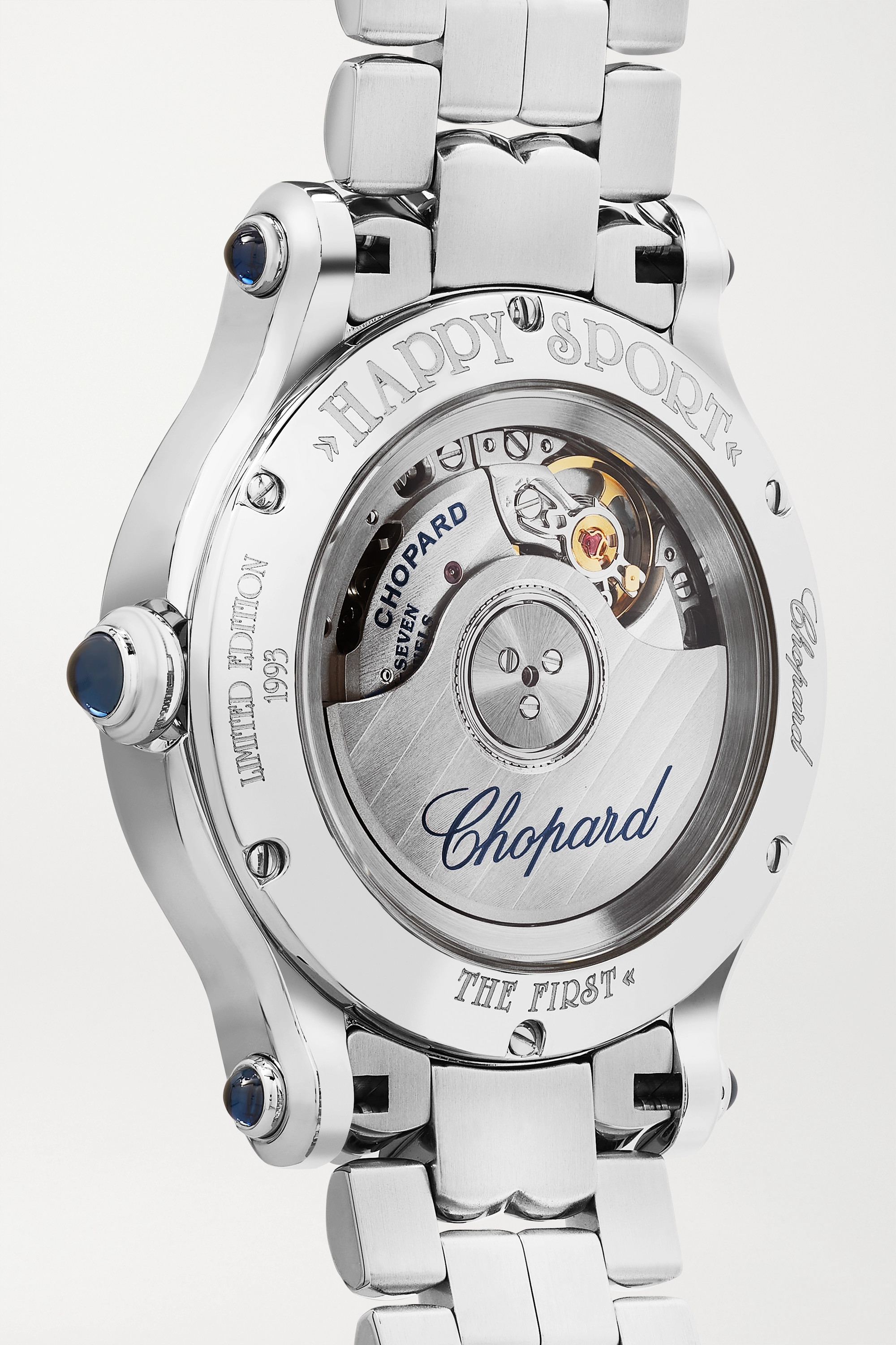 Chopard Happy Sport Limited Edition Automatic 33mm stainless steel and diamond watch