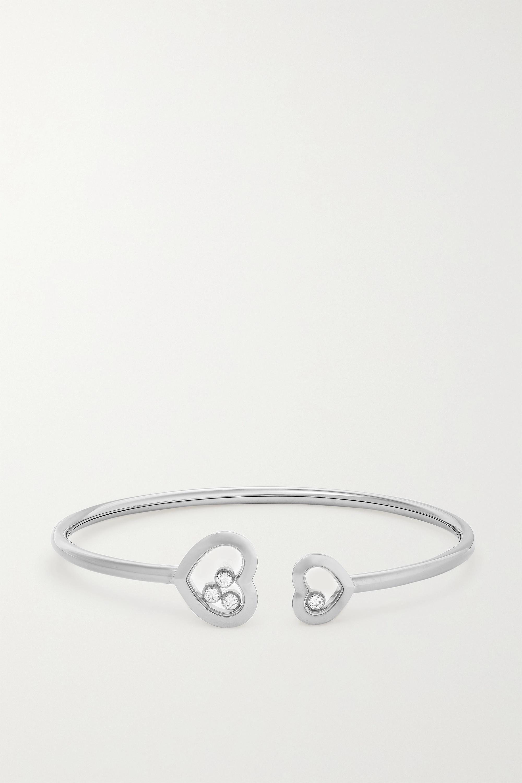 Chopard Happy Diamonds Armspange aus 18 Karat Weißgold mit Diamanten