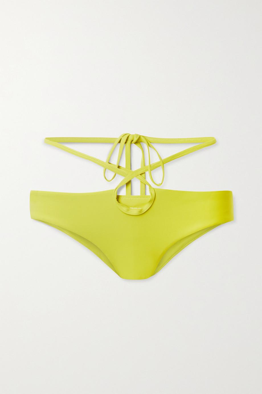 Christopher Esber Tie-detailed bikini briefs