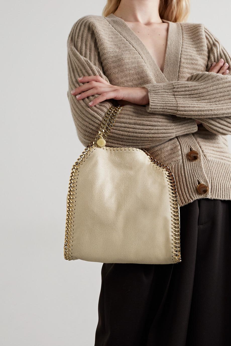 Stella McCartney Sac porté épaule en cuir végétarien brossé The Falabella Mini - NET SUSTAIN