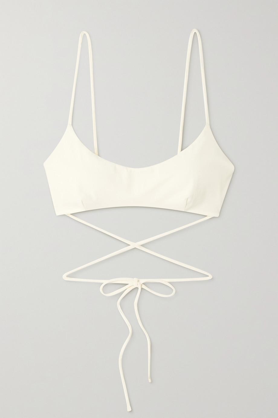 Magda Butrym Tie-back bikini top