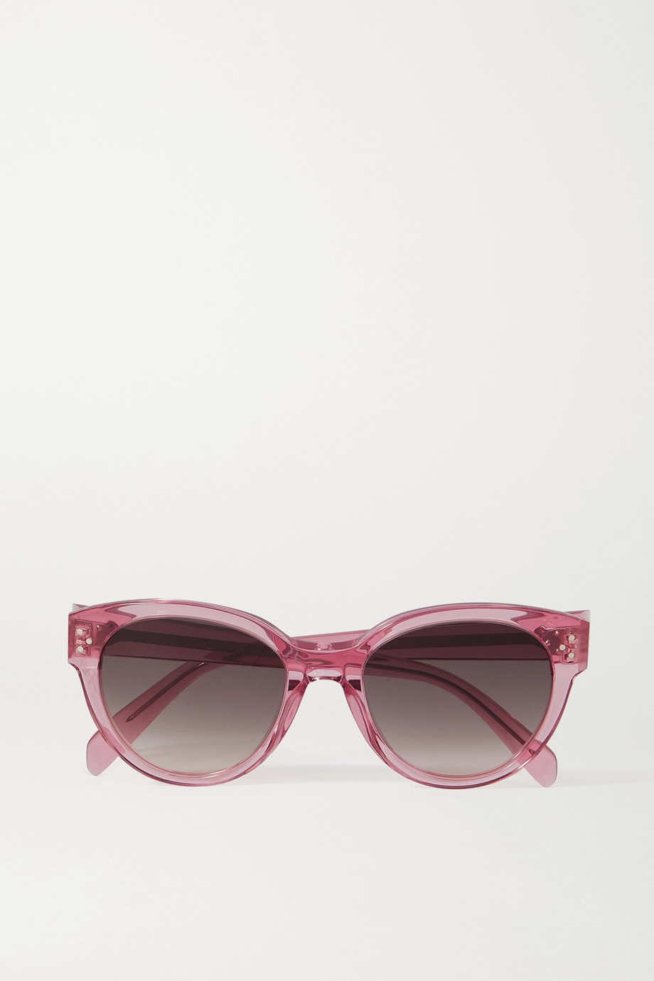 CELINE Eyewear Sonnenbrille mit rundem Rahmen aus Azetat