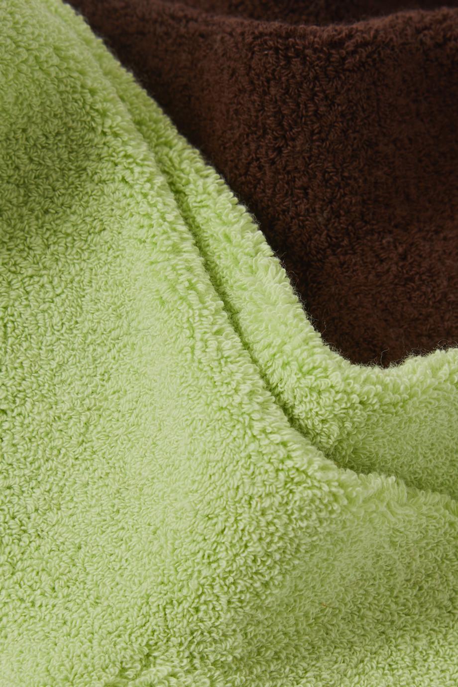 Baserange Buckle set of two stretch cotton-blend socks