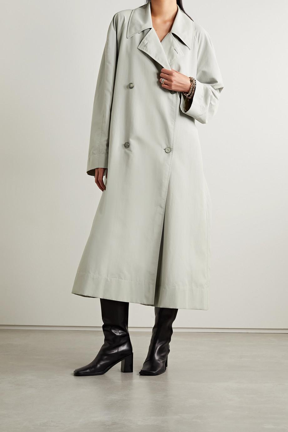 The Row Trench-coat en tissu technique à ceinture Agathan