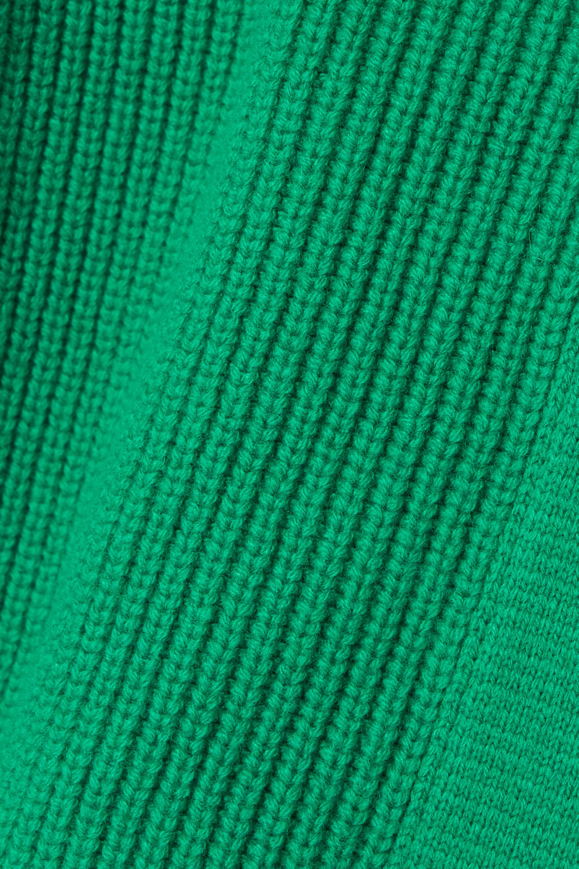 TOM FORD Cardigan en laine et cachemire mélangés côtelés