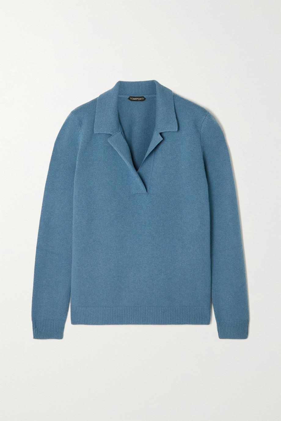 TOM FORD Pullover aus einer Woll-Kaschmirmischung