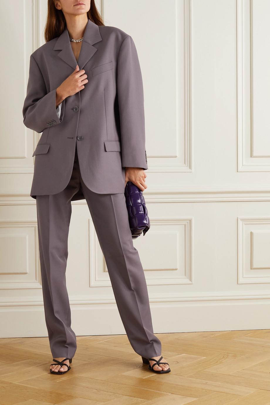 Acne Studios Oversized woven blazer