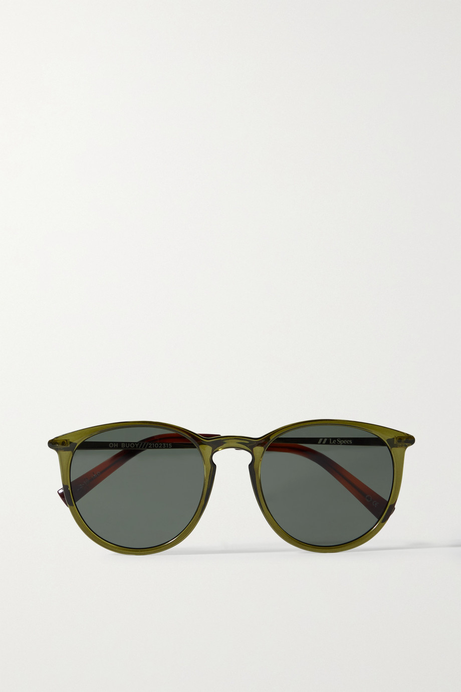 Le Specs Oh Bouy round-frame acetate sunglasses