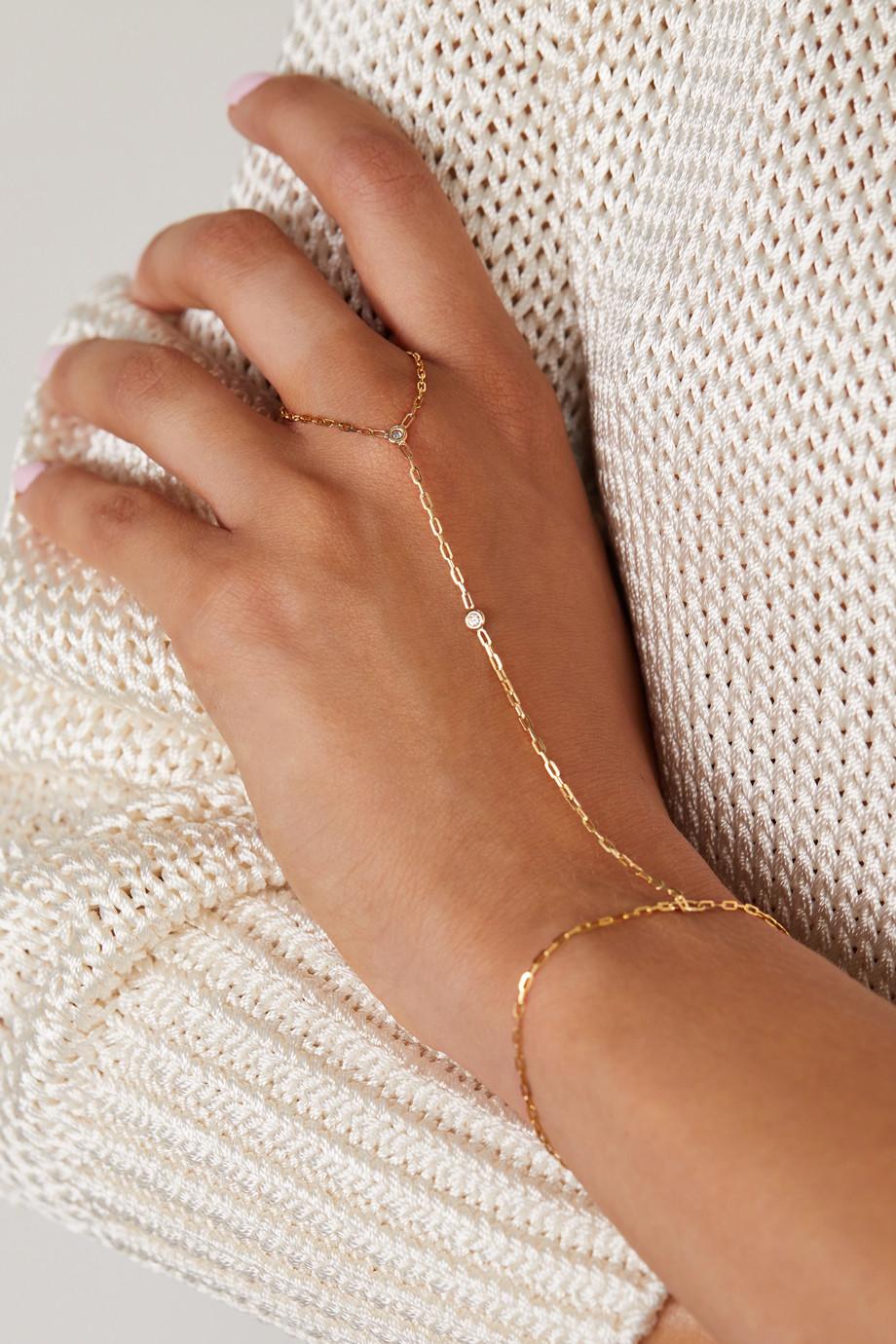 JIA JIA 14-karat gold diamond bracelet