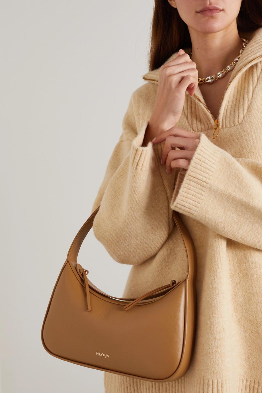 Neous Delphinus leather shoulder bag