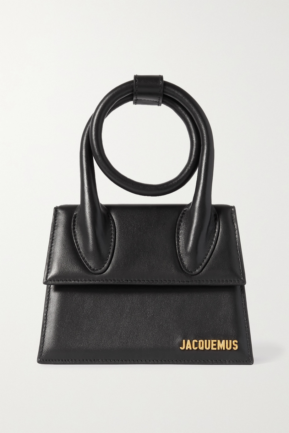Jacquemus Le Chiquito Noeud small leather shoulder bag