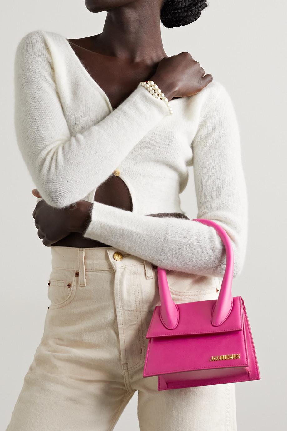 Jacquemus Le Chiquito Moyen leather shoulder bag