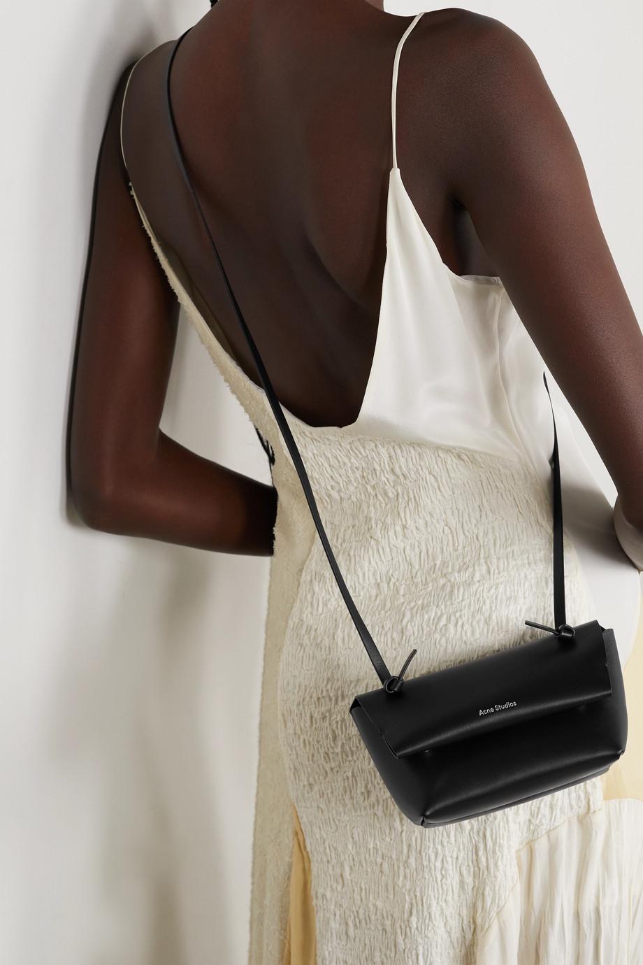 Acne Studios Sac porté épaule en cuir Mini