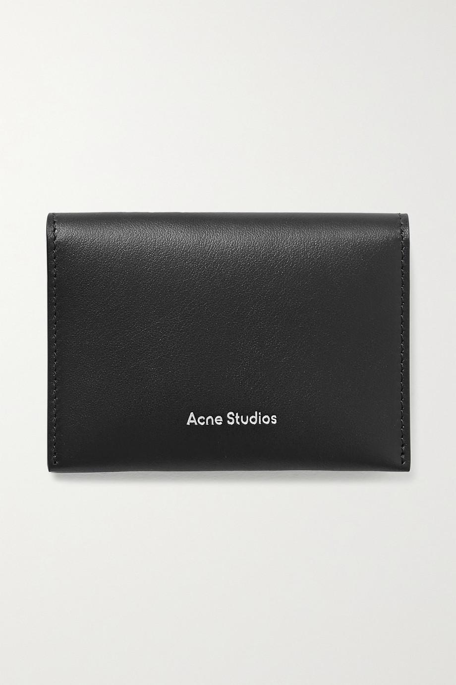 Acne Studios Porte-cartes en cuir