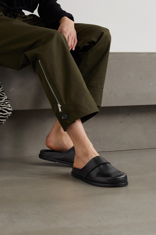 Porte & Paire + Frankie Shop Slippers aus Leder