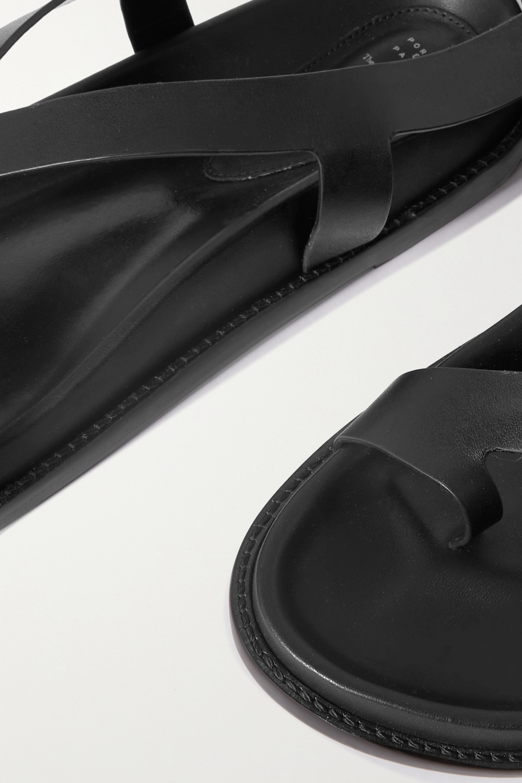 Porte & Paire Sandales en cuir x Frankie Shop