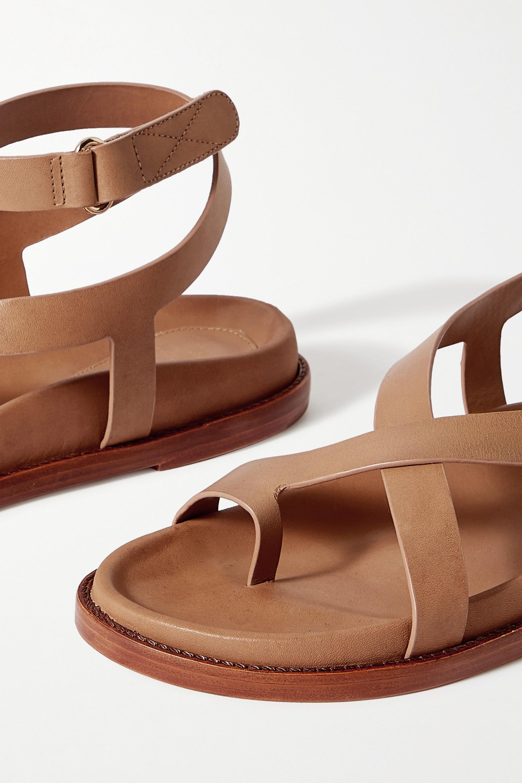 Porte & Paire + Frankie Shop Sandalen aus Leder