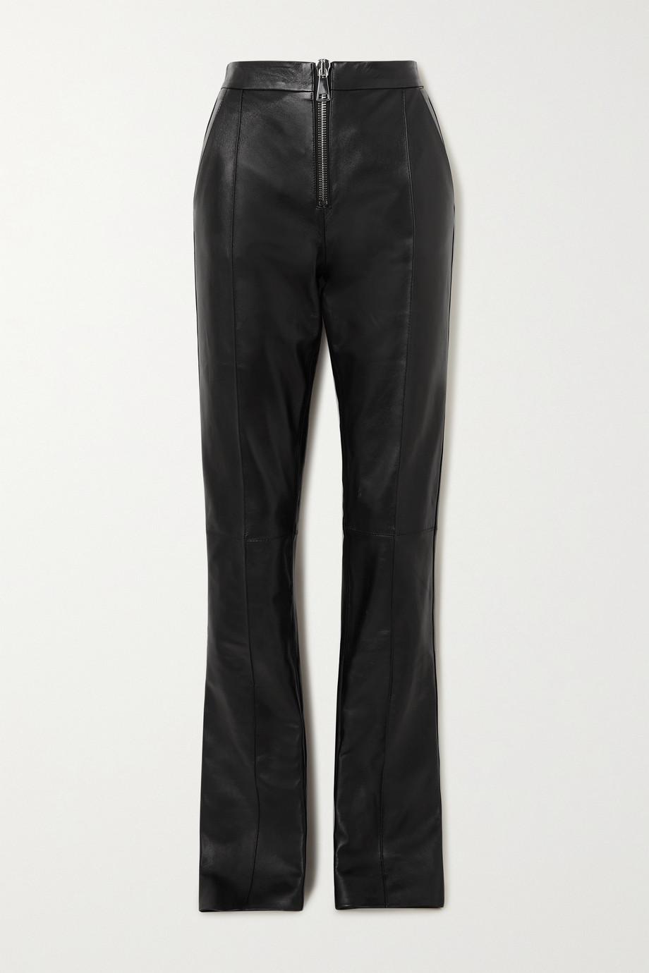 16ARLINGTON Pantalon slim en cuir Darien