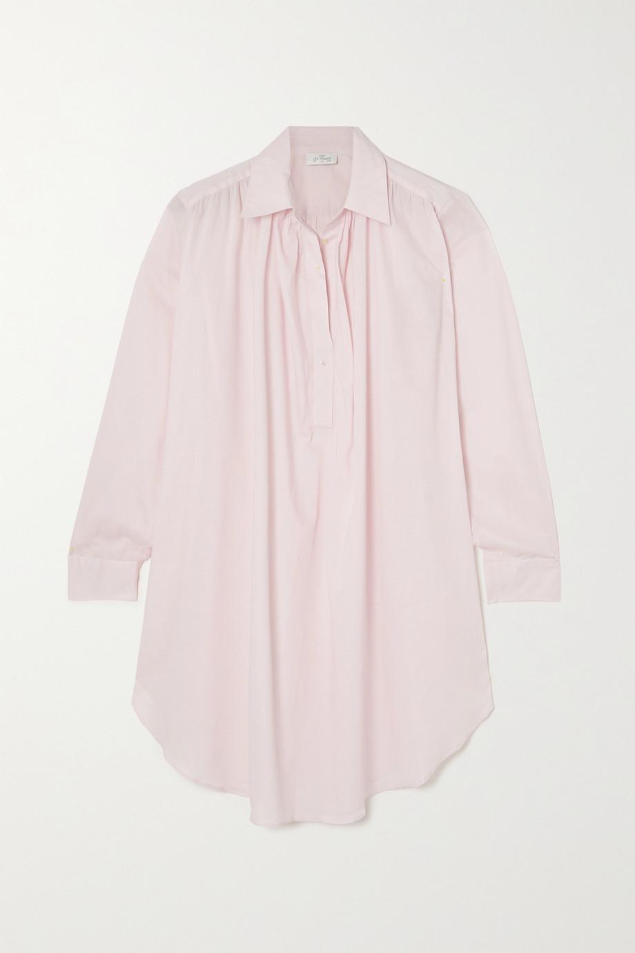 Pour Les Femmes Romeo cotton-voile nightdress