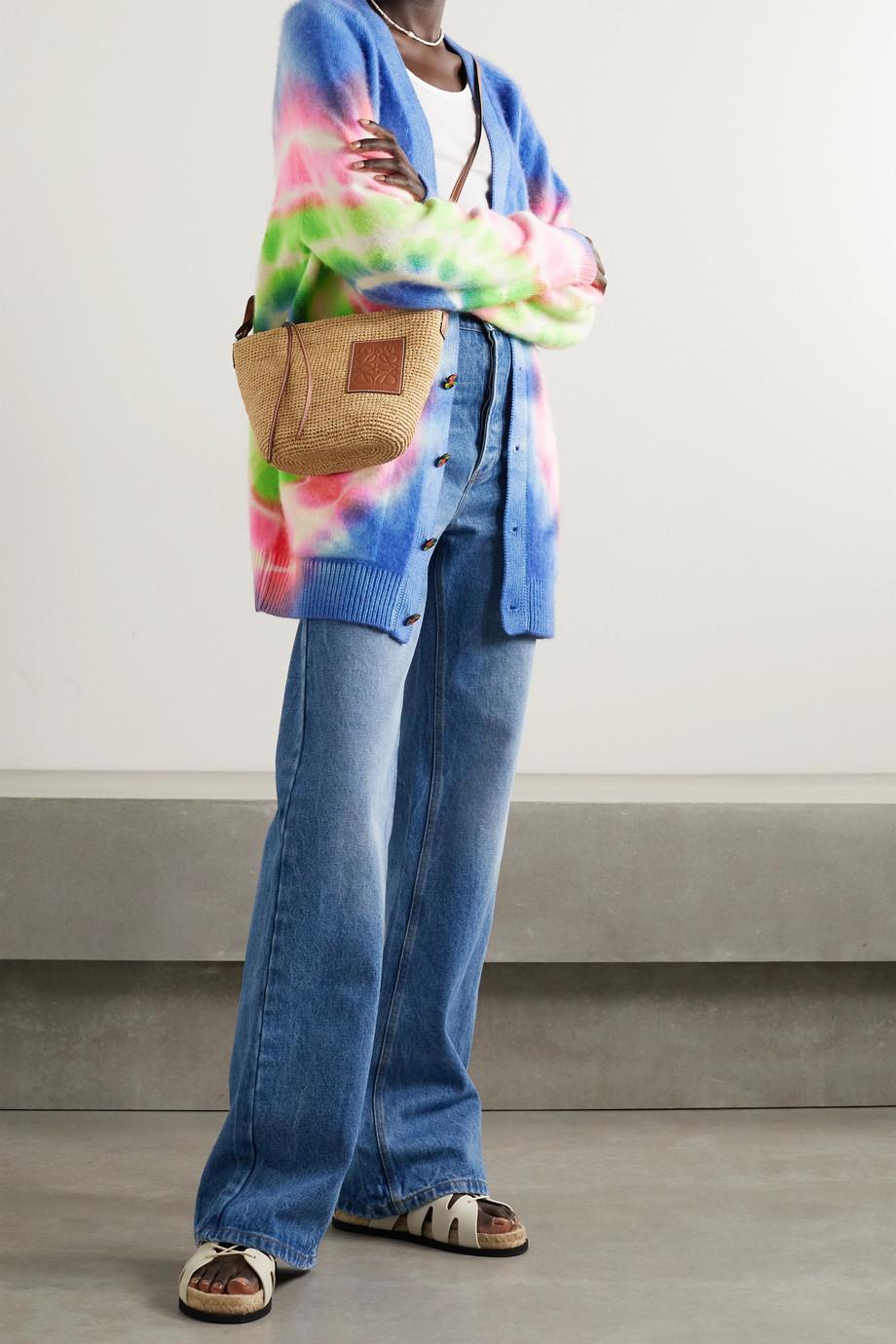The Elder Statesman Olympus tie-dyed cashmere cardigan