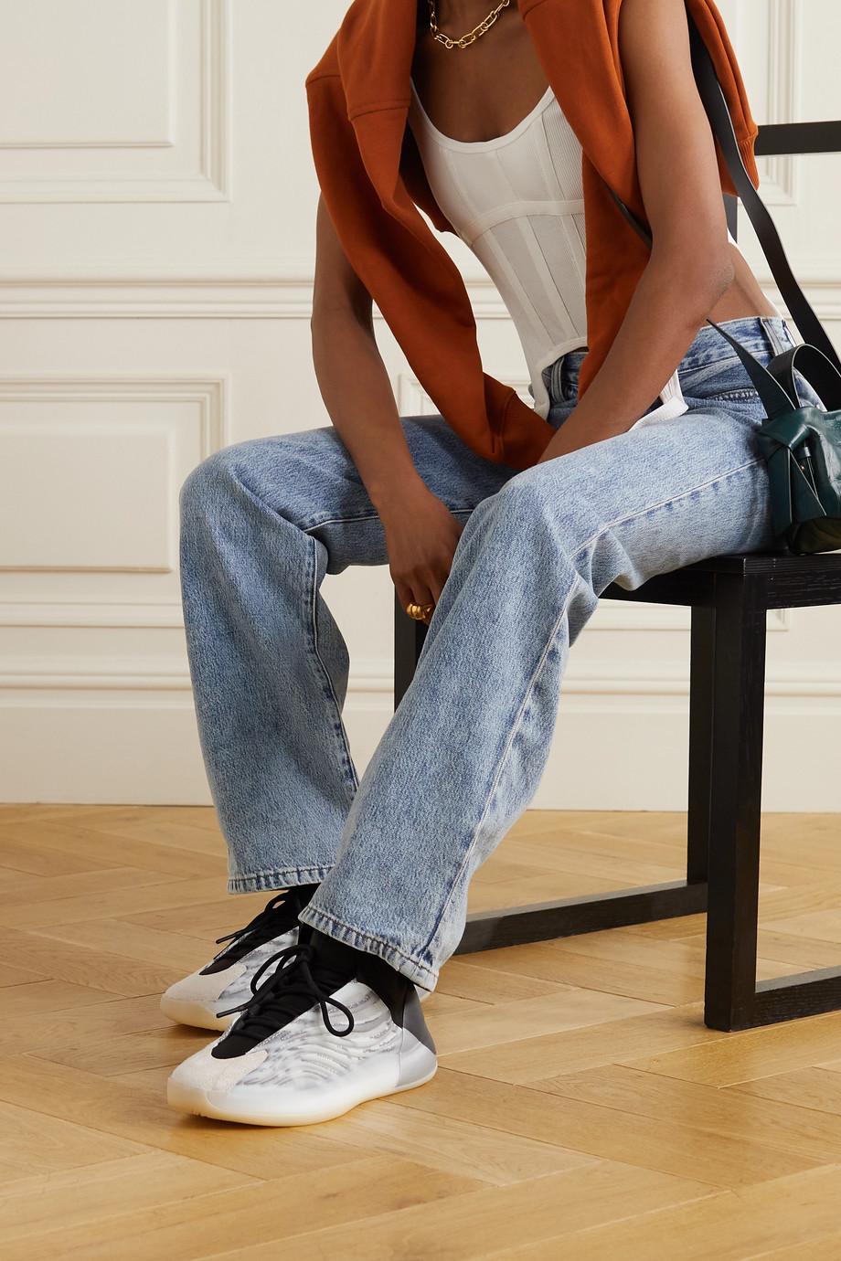 adidas Originals Yeezy Quantum Sneakers aus Primeknit und Neopren mit Velourslederbesatz