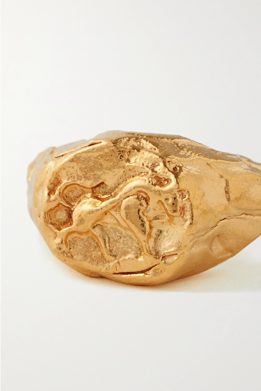 Alighieri Bague en plaqué or Taurus