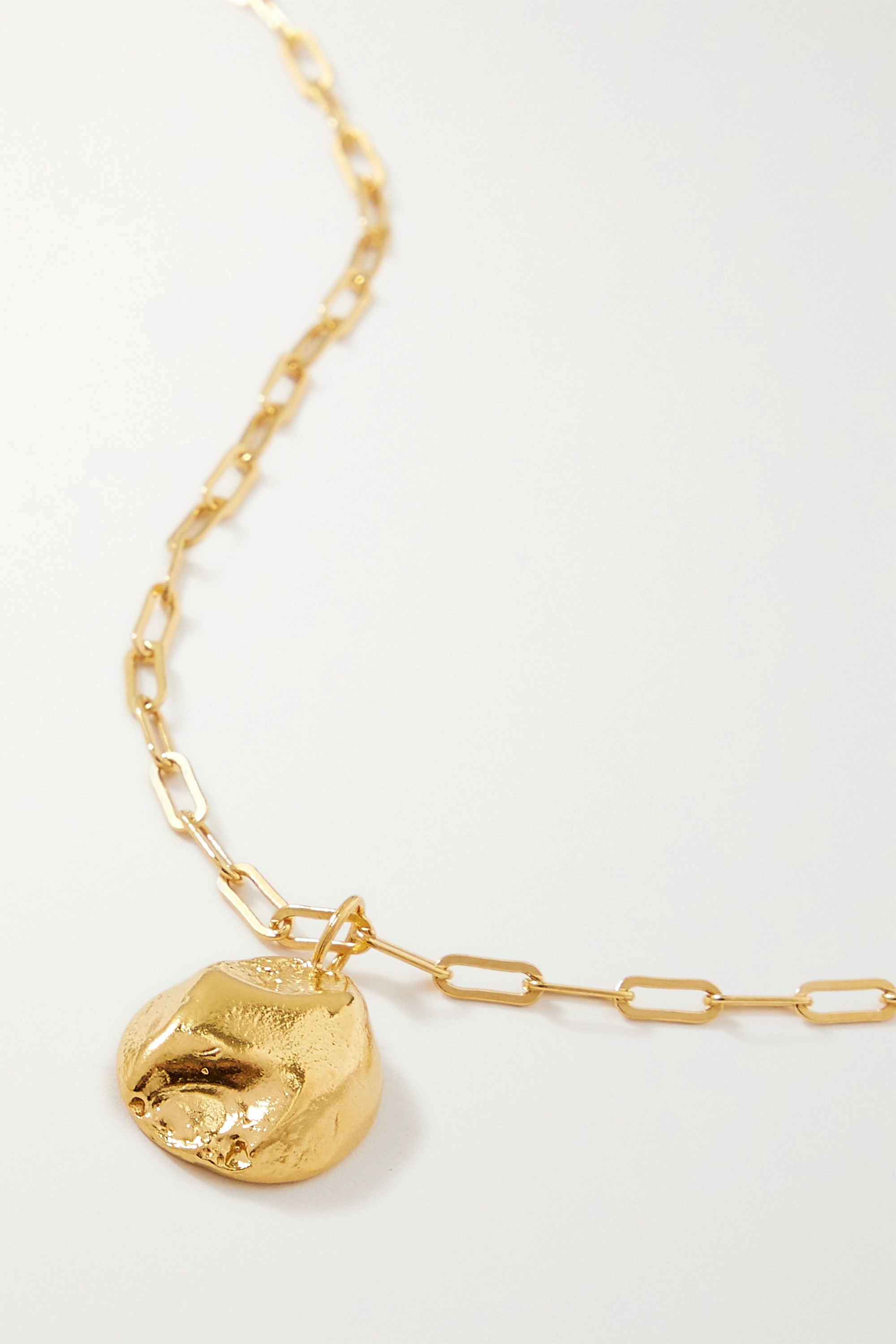 Alighieri - The Minerva gold-plated necklace