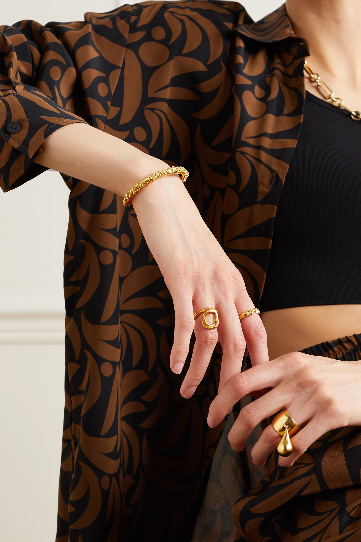 Alighieri Bracelet en plaqué or The Celestial Orbit
