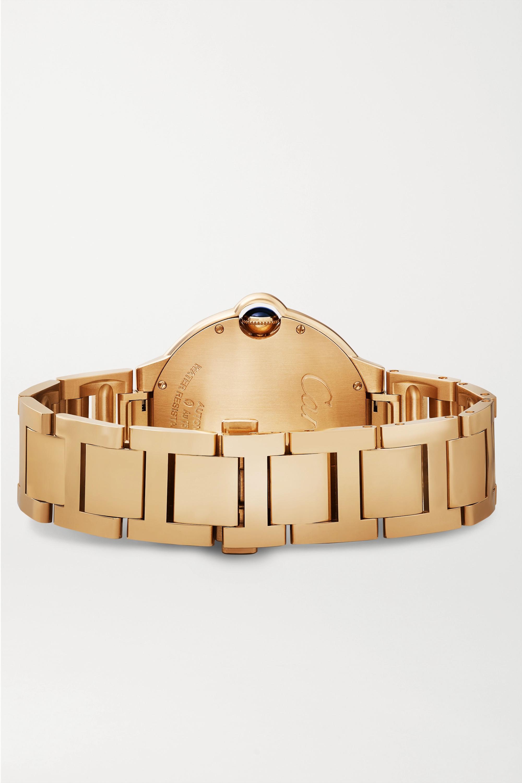 Cartier Ballon Bleu de Cartier Automatic 40 mm Uhr aus 18 Karat Rotgold mit Diamanten