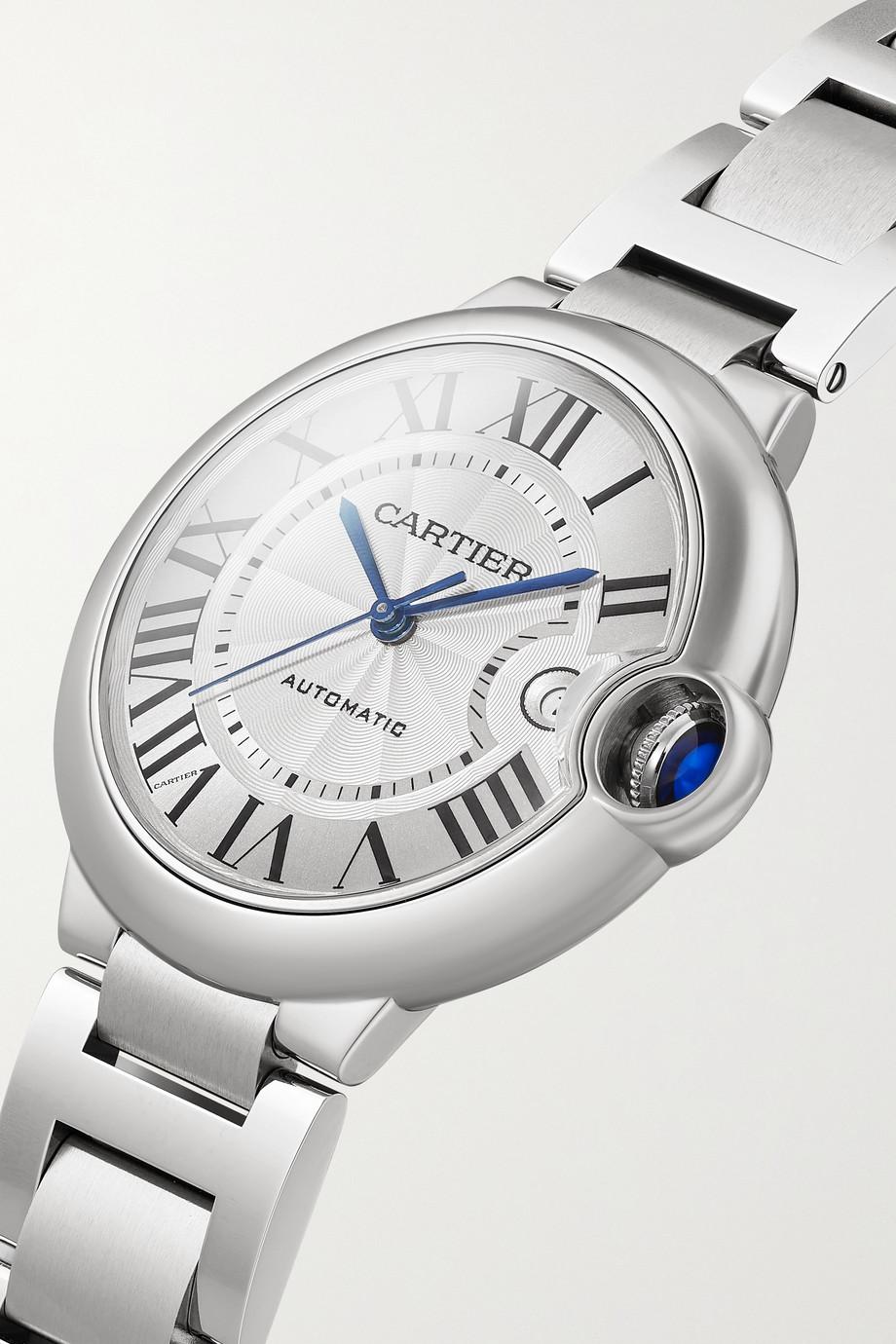 Cartier Ballon Bleu de Cartier Automatic 39 mm Uhr aus Edelstahl