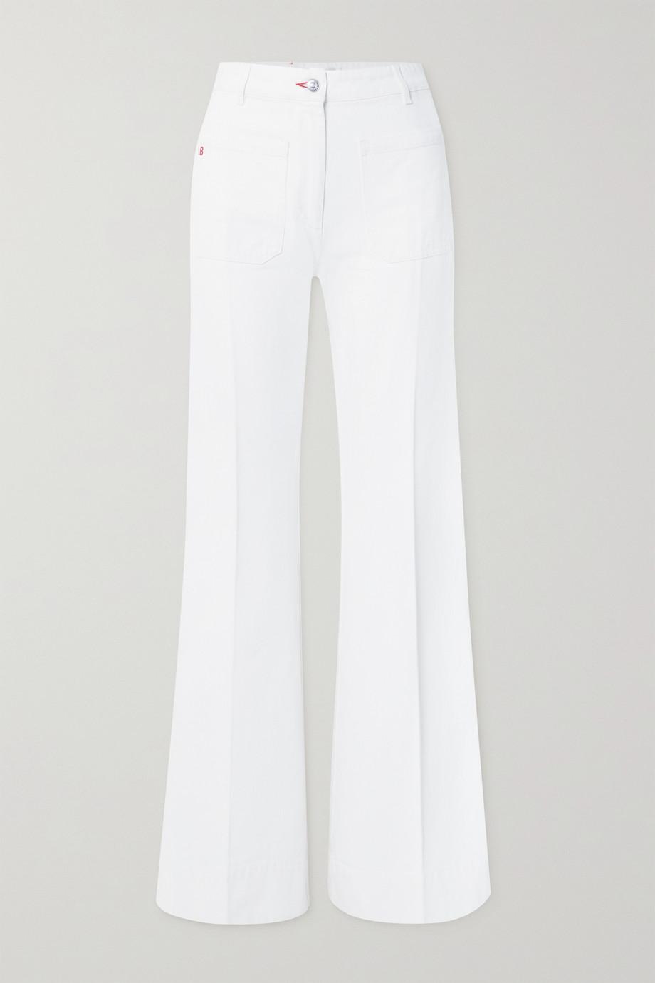 Victoria Beckham Jean large taille haute Alina