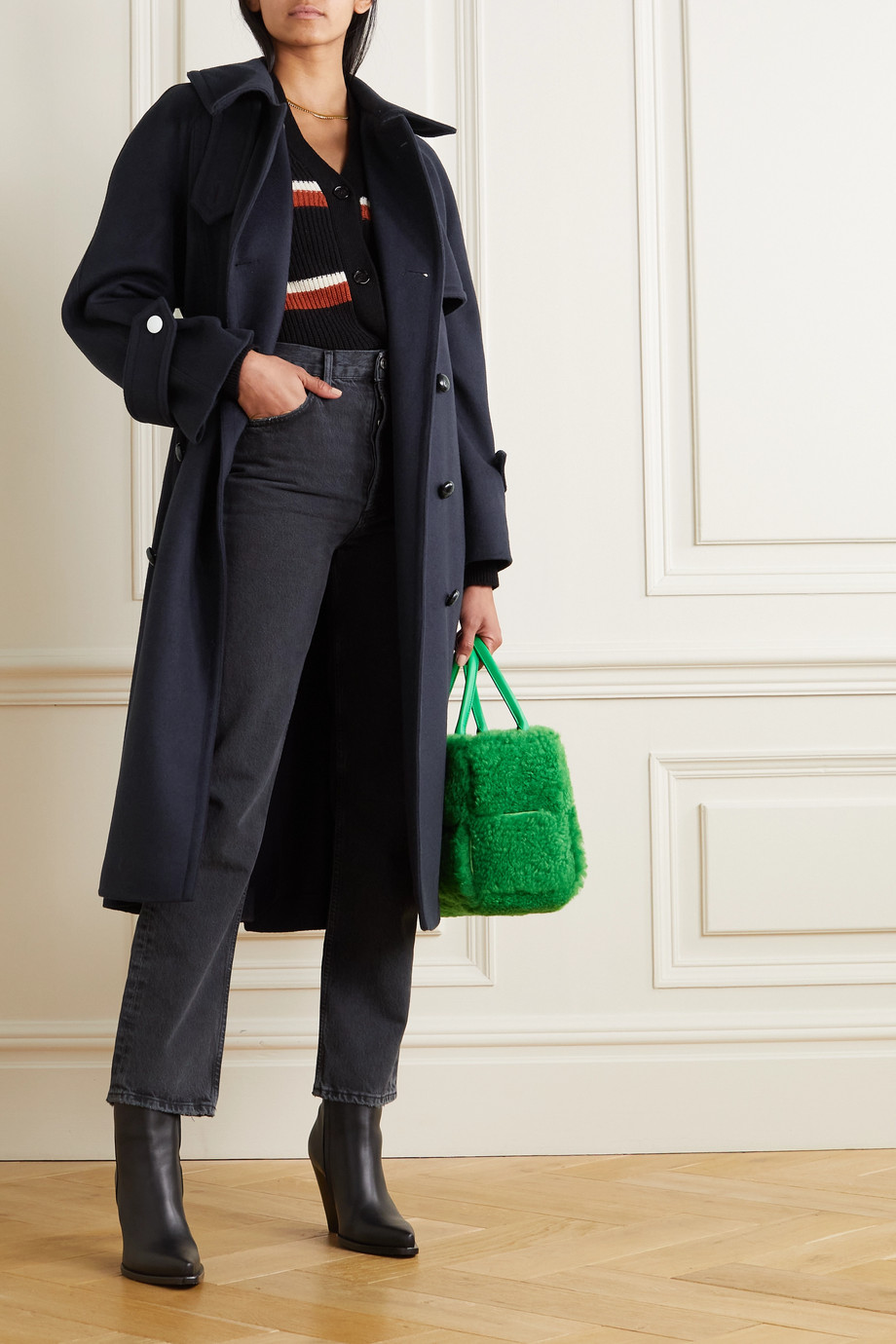 Victoria Beckham Wool trench coat