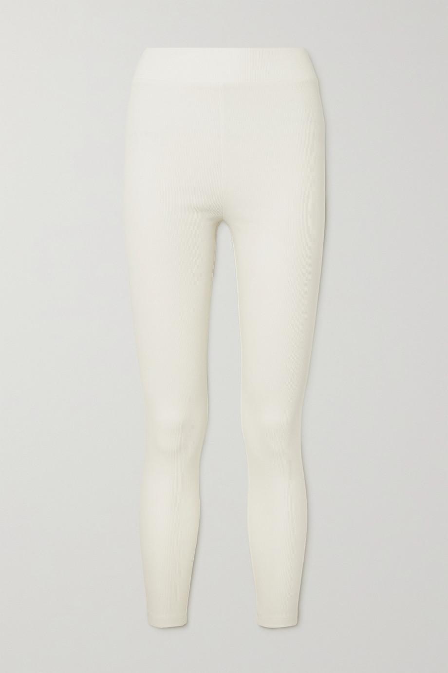 I.D. Sarrieri Legging en coton côtelé Charlie