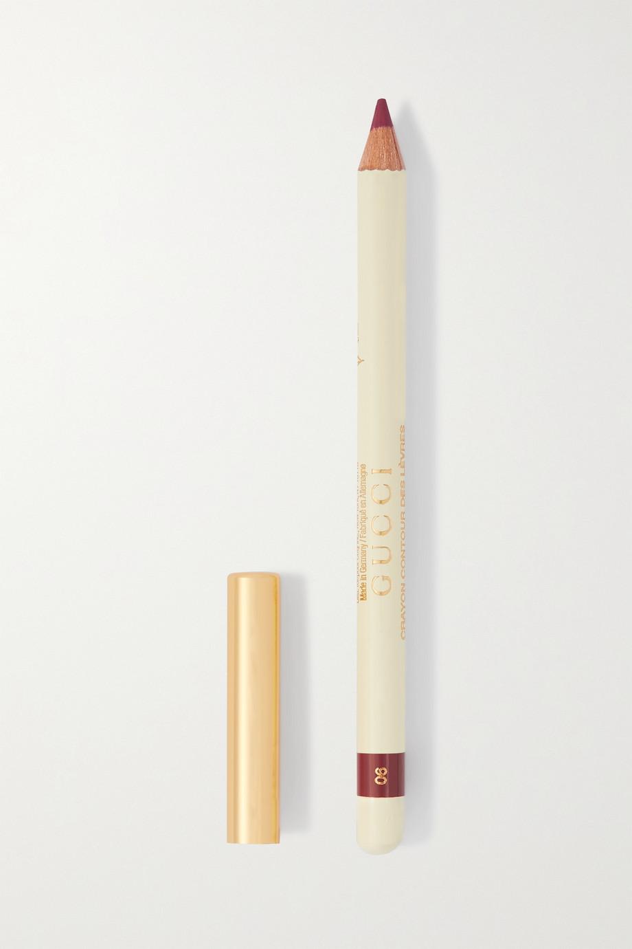 Gucci Beauty Crayon Contour des Lèvres 06 - Rusty Red