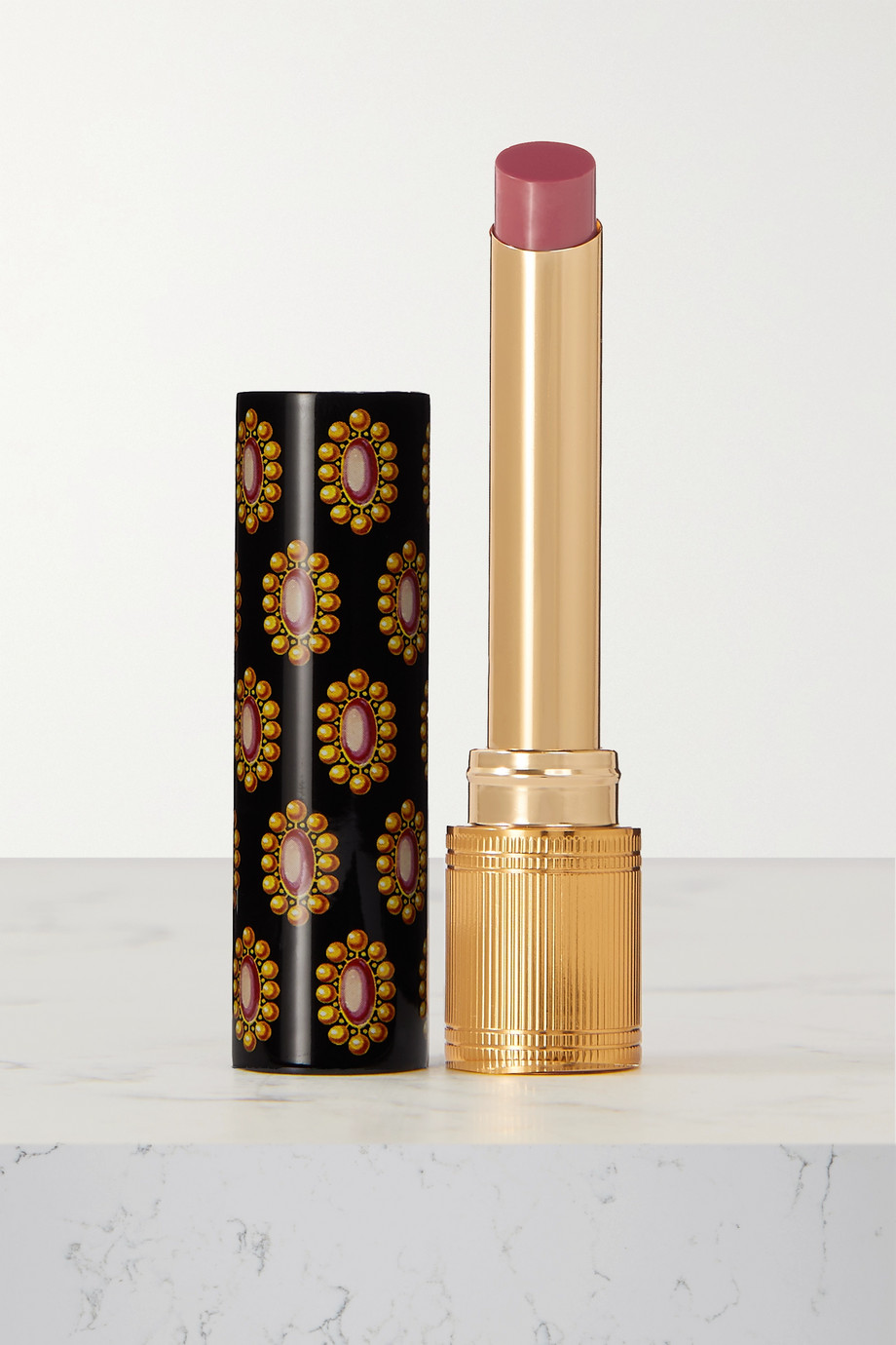 Gucci Beauty Rouge de Beauté Brillant Lipstick - Call It A Day 214
